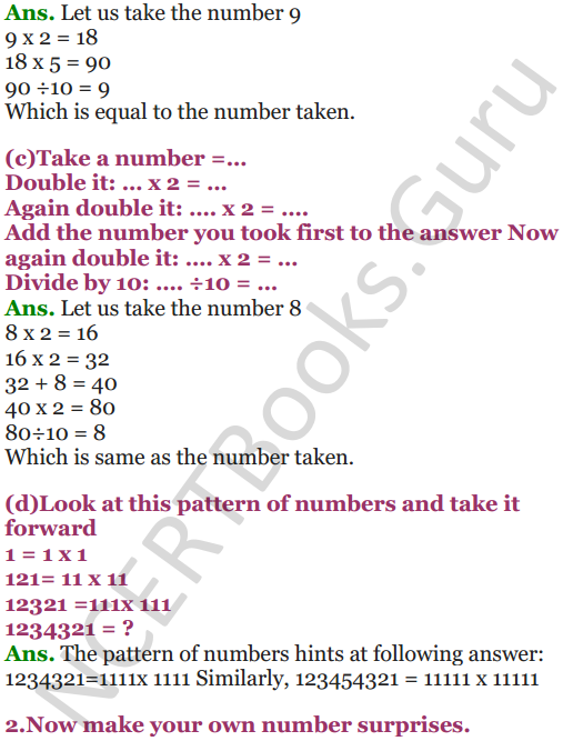 NCERT Solutions for Class 5 Maths Chapter 7 Can You See The Pattern 18