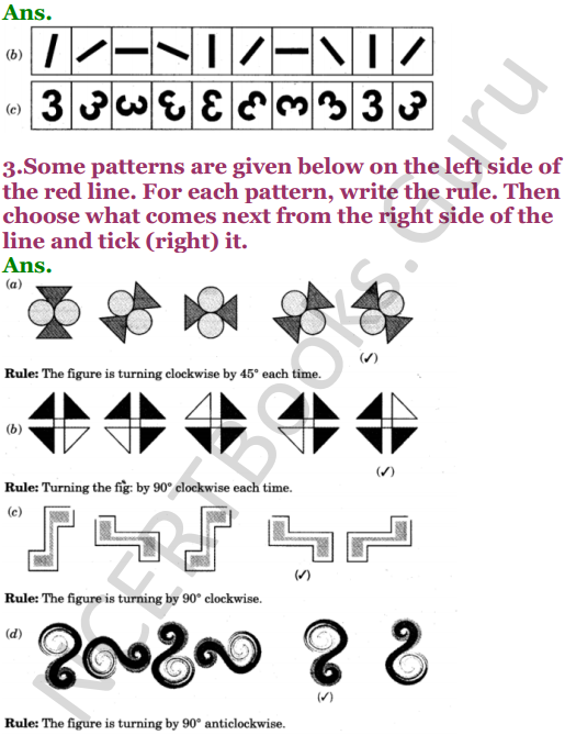 NCERT Solutions for Class 5 Maths Chapter 7 Can You See The Pattern 3