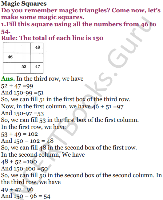 NCERT Solutions for Class 5 Maths Chapter 7 Can You See The Pattern 5