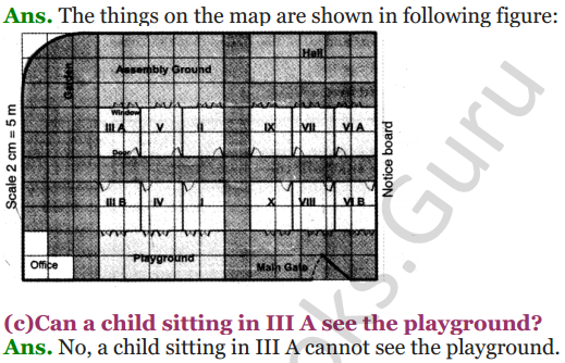 NCERT Solutions for Class 5 Maths Chapter 8 Mapping Your Way 13