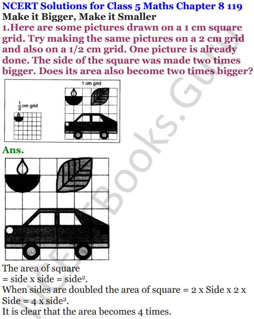 NCERT Solutions for Class 5 Maths Chapter 8 Mapping Your Way 5