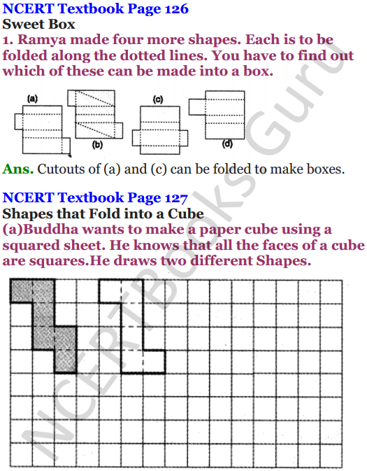 NCERT Solutions for Class 5 Maths Chapter 9 Boxes And Sketches 1