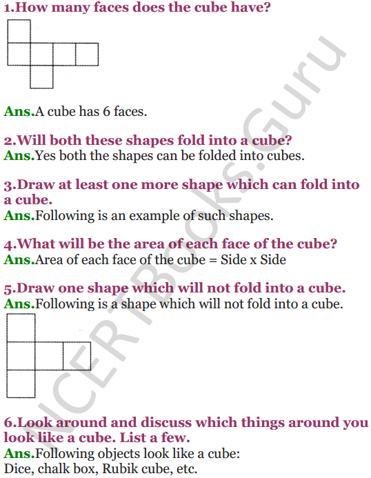 NCERT Solutions for Class 5 Maths Chapter 9 Boxes And Sketches 2