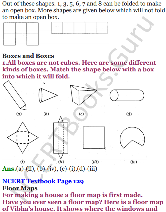 NCERT Solutions for Class 5 Maths Chapter 9 Boxes And Sketches 4