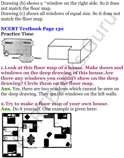 NCERT Solutions for Class 5 Maths Chapter 9 Boxes And Sketches 6