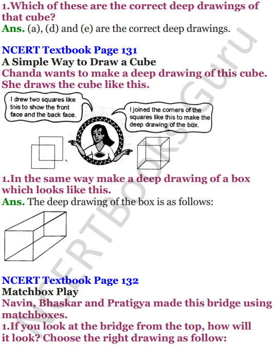 NCERT Solutions for Class 5 Maths Chapter 9 Boxes And Sketches 8