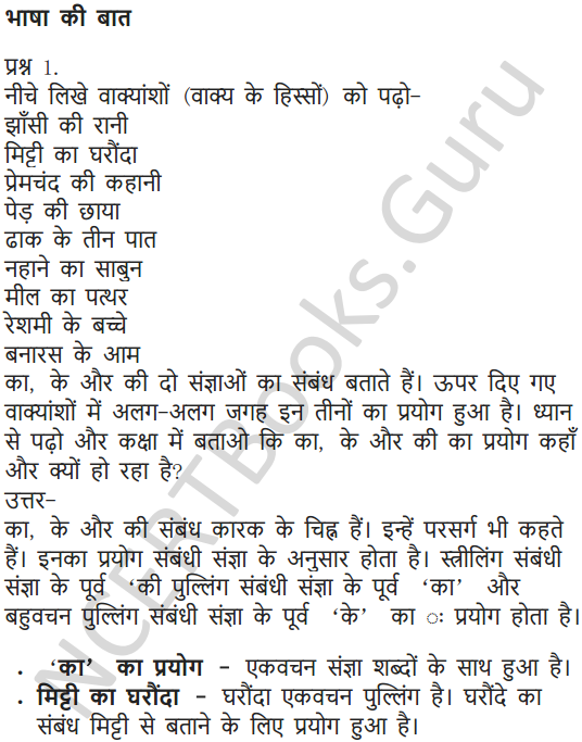 NCERT Solutions for Class 6 Hindi Chapter 10 झाँसी की रानी 5