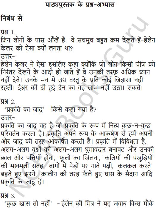 NCERT Solutions for Class 6 Hindi Chapter 11 जो देखकर भी नहीं देखते 1