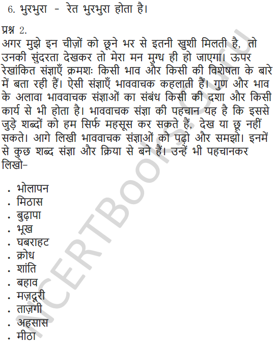 NCERT Solutions for Class 6 Hindi Chapter 11 जो देखकर भी नहीं देखते 6