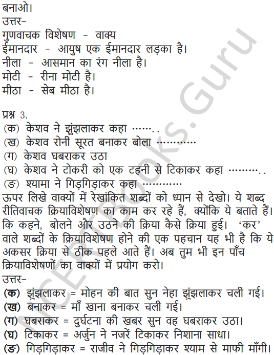 NCERT Solutions for Class 6 Hindi Chapter 3 नादान दोस्त 6