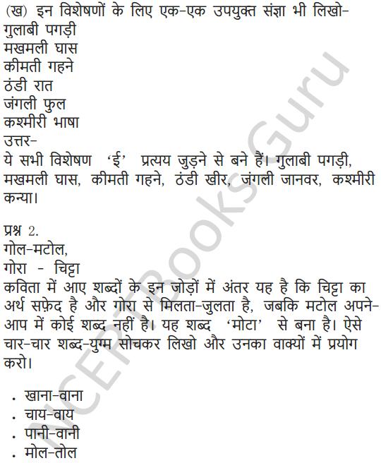 NCERT NCERT Solutions for Class 6 Hindi Chapter 4 चाँद से थोड़ी सी गप्पे 5