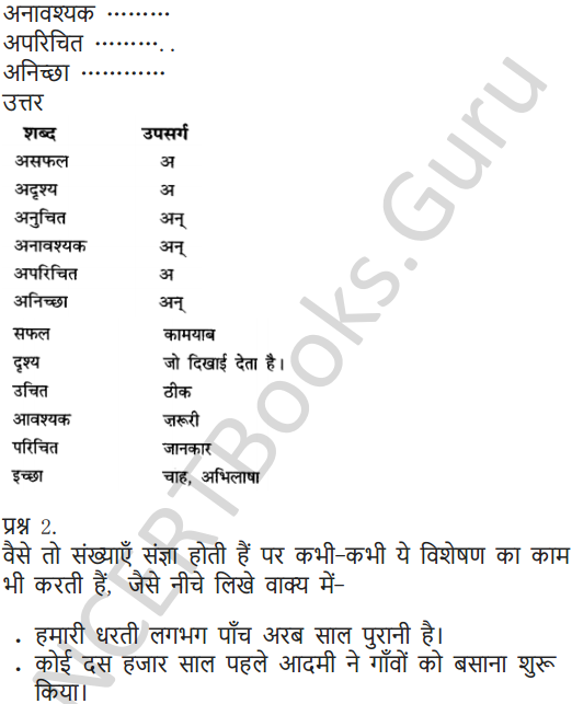 NCERT Solutions for Class 6 Hindi Chapter 5 अक्षरों का महत्व 6