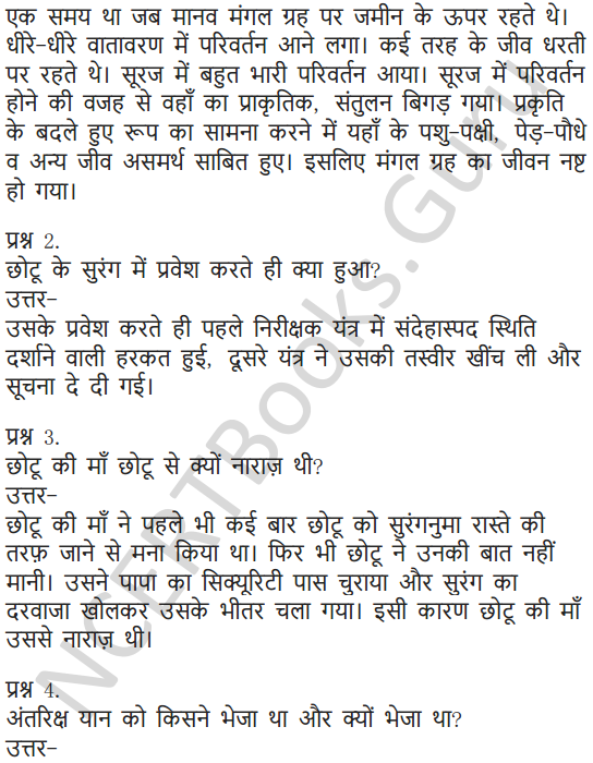 NCERT Solutions for Class 6 Hindi Chapter 6 पार नज़र के 15