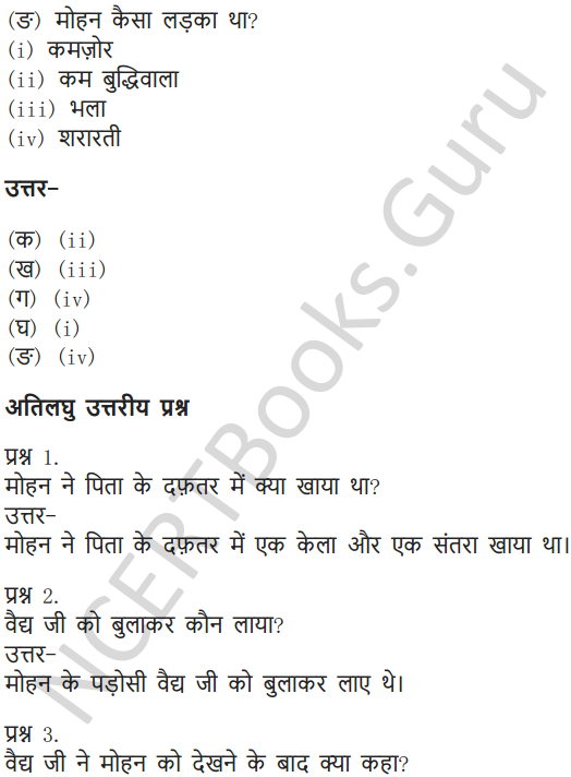 NCERT Solutions for Class 6 Hindi Chapter 8 ऐसे – ऐसे 8