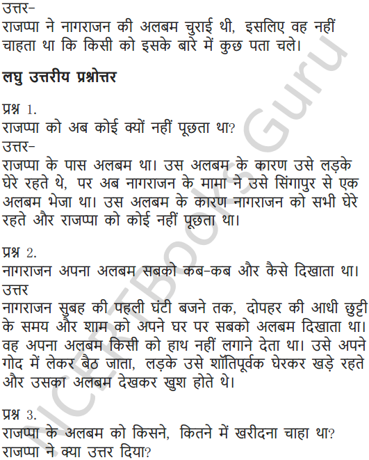 NCERT Solutions for Class 6 Hindi Chapter 9 टिकट अलबम 13