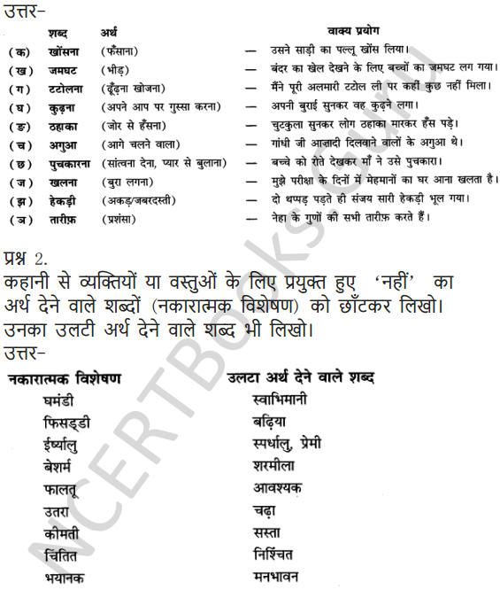 NCERT Solutions for Class 6 Hindi Chapter 9 टिकट अलबम 7