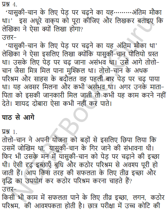 NCERT Solutions for Class 7 Hindi Chapter 10 अपूर्व अनुभव 3