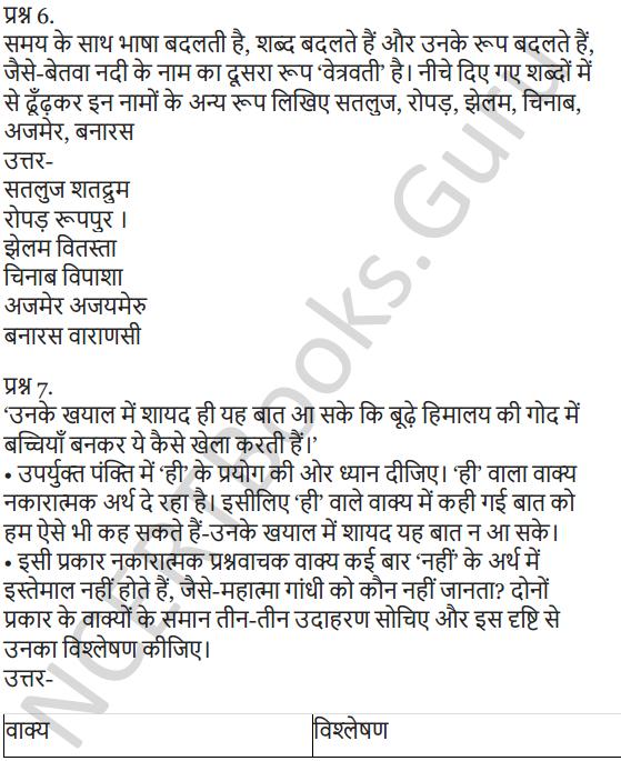 NCERT Solutions for Class 7 Hindi Chapter 3 हिमालय की बेटियां 10