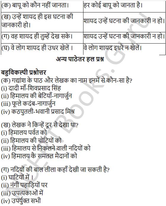NCERT Solutions for Class 7 Hindi Chapter 3 हिमालय की बेटियां 11