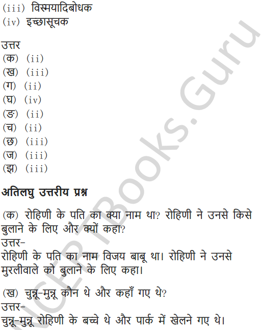 NCERT Solutions for Class 7 Hindi Chapter 5 मीठाईवाला 14
