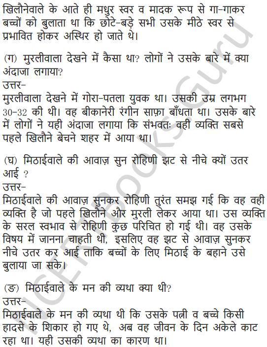 NCERT Solutions for Class 7 Hindi Chapter 5 मीठाईवाला 16