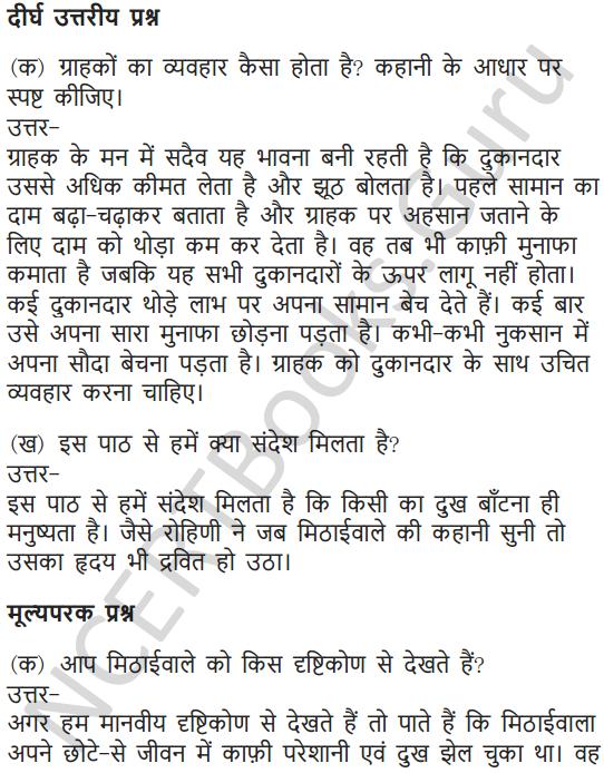 NCERT Solutions for Class 7 Hindi Chapter 5 मीठाईवाला 17