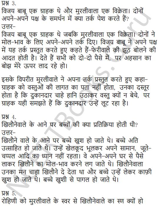 NCERT Solutions for Class 7 Hindi Chapter 5 मीठाईवाला 2
