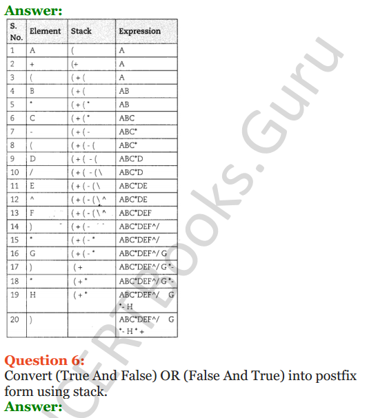 [PDF] Important Questions for Class 12 Computer Science