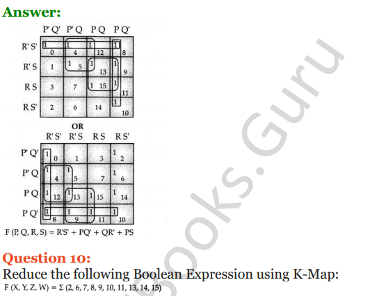 Important Questions for Class 12 Computer Science (Python) Chapter - 8 – Boolean Algebra 39