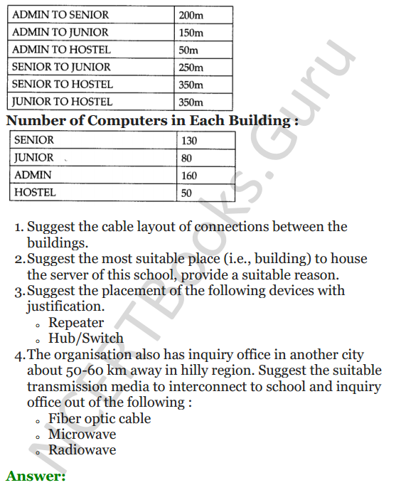 Important Questions for Class 12 Computer Science (Python) Chapter - 9 – Networking and Open Source Concepts 18