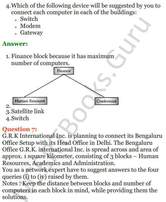 Important Questions for Class 12 Computer Science (Python) Chapter - 9 – Networking and Open Source Concepts 25