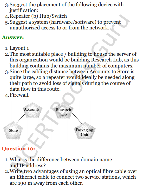 Important Questions for Class 12 Computer Science (Python) Chapter - 9 – Networking and Open Source Concepts 33