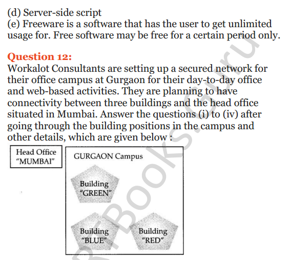 Important Questions for Class 12 Computer Science (Python) Chapter - 9 – Networking and Open Source Concepts 38