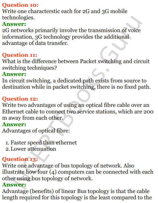 Important Questions for Class 12 Computer Science (Python) Chapter - 9 – Networking and Open Source Concepts 4