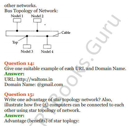 Important Questions for Class 12 Computer Science (Python) Chapter - 9 – Networking and Open Source Concepts 5