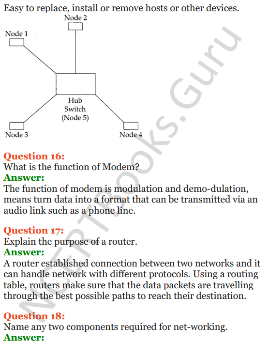 Important Questions for Class 12 Computer Science (Python) Chapter - 9 – Networking and Open Source Concepts 6