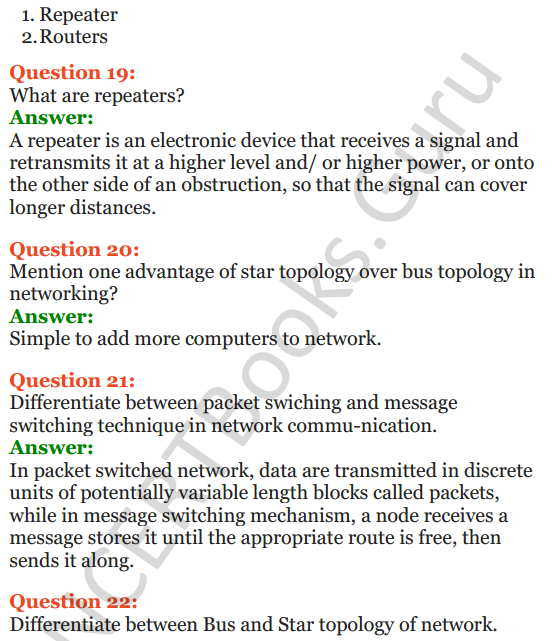 Important Questions for Class 12 Computer Science (Python) Chapter - 9 – Networking and Open Source Concepts 7
