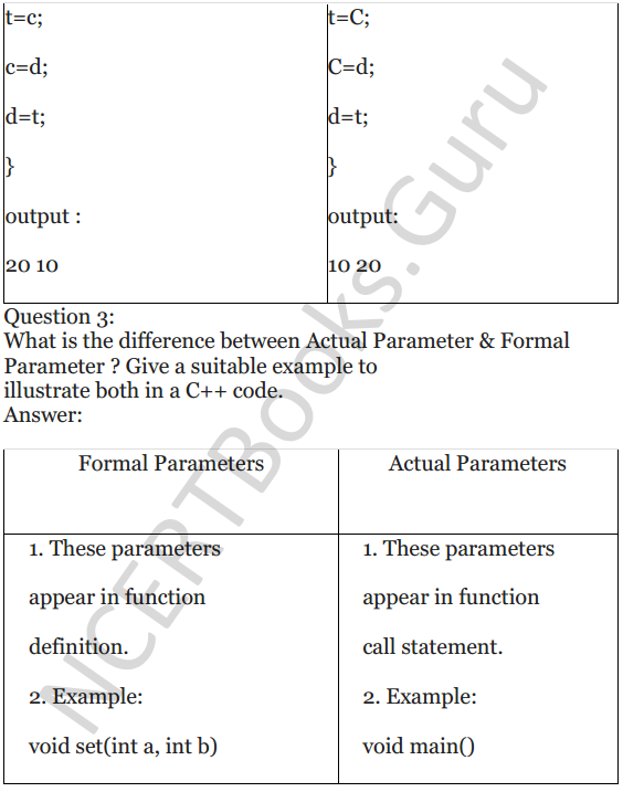 NCERT Solutions for Class 12 Computer Science (C++) Chapter - 1 – C++ Revision Tour 41