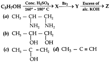Chemistry MCQs for Class 12 with Answers Chapter 11 Alcohols, Phenols and Ethers 4