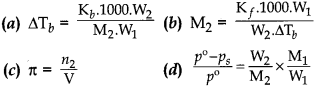 Chemistry MCQs for Class 12 with Answers Chapter 2 Solutions