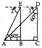 MCQ Questions for Class 10 Maths Application of Trigonometry with Answers 10