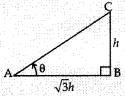 MCQ Questions for Class 10 Maths Application of Trigonometry with Answers 13