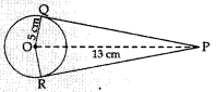 MCQ Questions for Class 10 Maths Circles with Answers 10