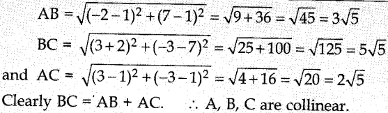 MCQ Questions for Class 10 Maths Coordinate Geometry with Answers 5