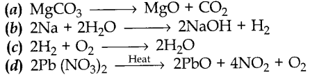 MCQ Questions for Class 10 Science Chemical Reactions and Equations with Answers 1