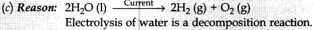 MCQ Questions for Class 10 Science Chemical Reactions and Equations with Answers 3