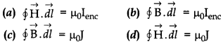 Physics MCQs for Class 12 with Answers Chapter 4 Moving Charges and Magnetism 2