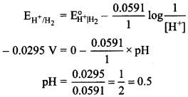 Chemistry MCQs for Class 12 with Answers Chapter 3 Electrochemistry 11