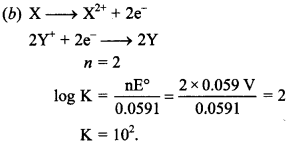 Chemistry MCQs for Class 12 with Answers Chapter 3 Electrochemistry 12