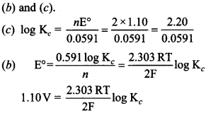 Chemistry MCQs for Class 12 with Answers Chapter 3 Electrochemistry 16